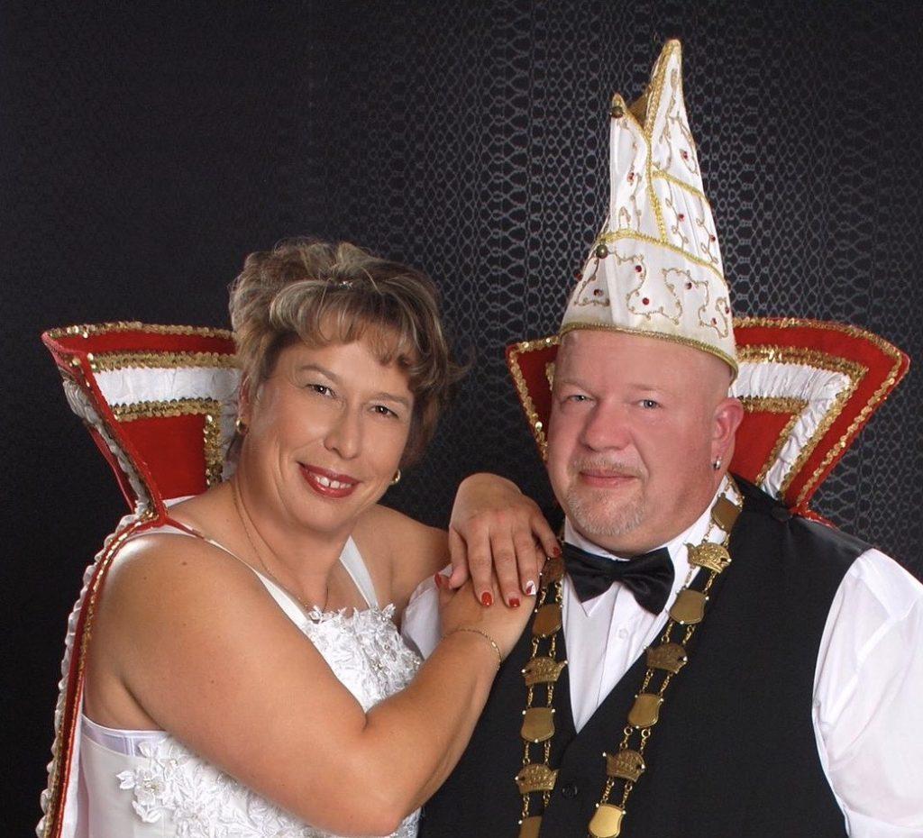 NCA-Prinzenpaar 2019/20: MaryI. und Rolf I.